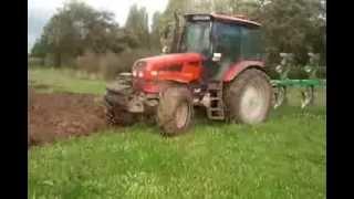 belarus mtz 1523 4 ploughing with 5 furrow pietro moro