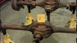 How to tell the difference between a Ford 9 inch and an 8 inch rear end/differential - Part 2