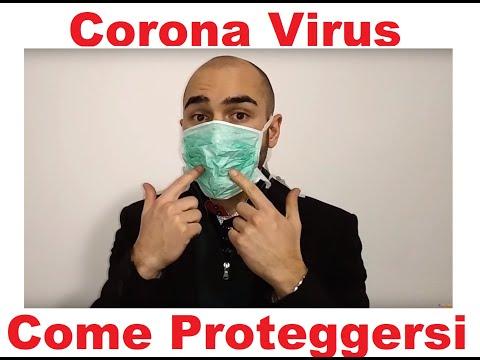 maschera ospedaliera antivirus