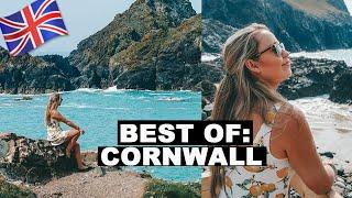 BEST SEASIDE OF ENGLAND? CORNWALL COAST  | UK Staycation Road Trip | Boscastle & Tintagel