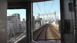 阪神電車 近鉄車5721F神戸三宮行快速急行 九条から尼崎まで 一部見難い箇所あり