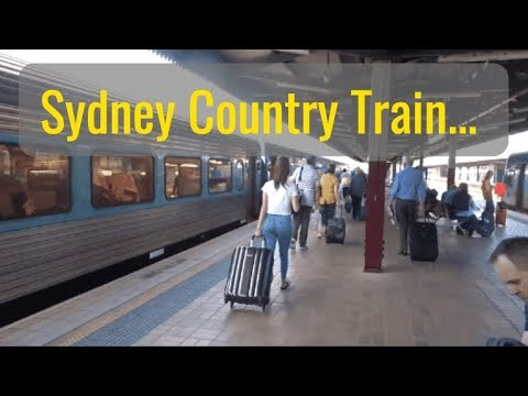 Sydney Country Trains - Central Station To Taree