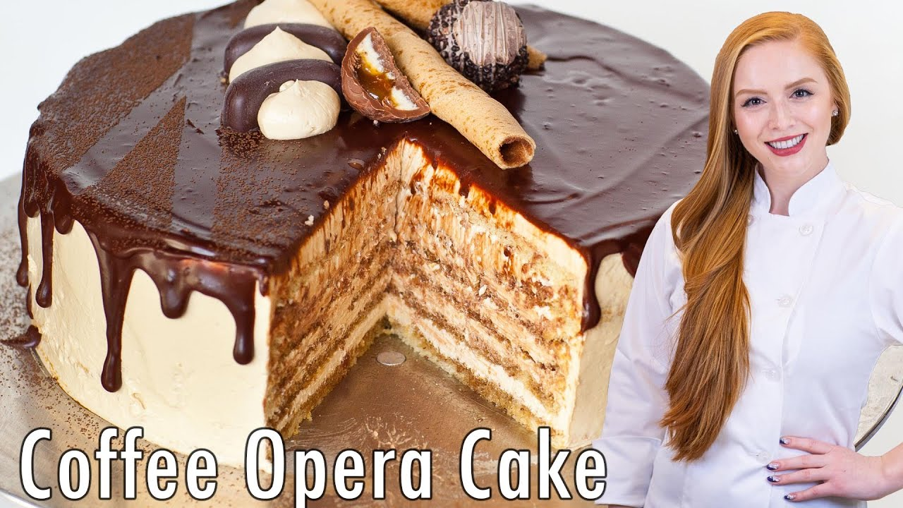 Chocolate Opera Birthday Cake
