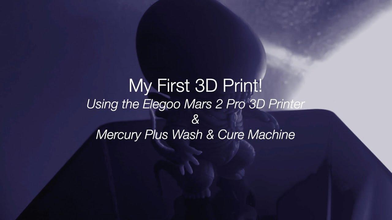 My First 3D Print // Baby Xenomorph
