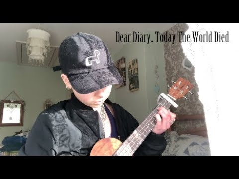 dear diary..today the world died | original song | Biddle