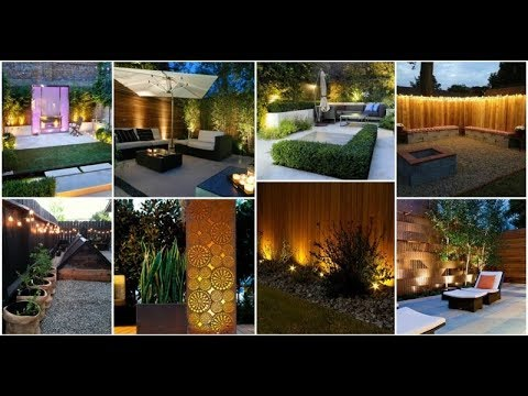 16 superb garden fence lighting ideas