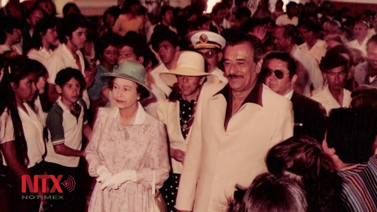 Resultado de imagen para fotos de la visita de la la reina Isabel II, a La Paz Baja California Sur