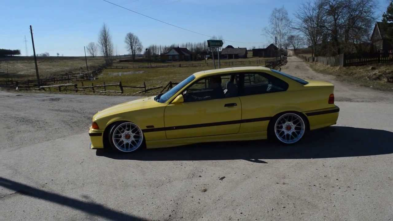 Bmw E36 Dakar Gelb Bbs Rs Sokolka Youtube