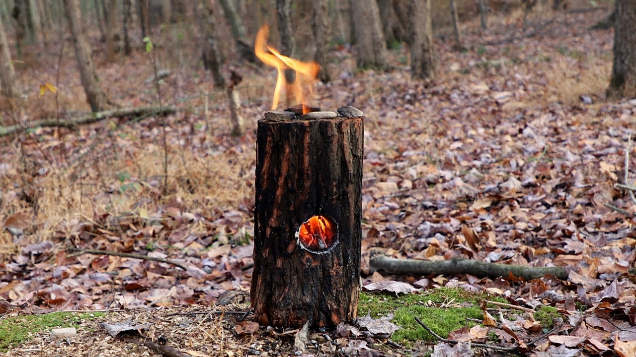 The Survivalist Jet Stove Made Easy!! Survival Fire, Bushcraft Skills, Campfire Making