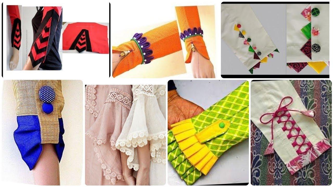 New Very Creative & Useful Sleeves Designs For Kurti/Shirts & Qameez
