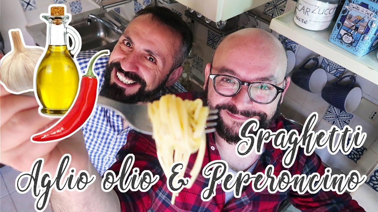 VLOG IN CUCINA - Spaghetti Aglio Olio e Peperoncino con... Ossimoro! - 55Winston55