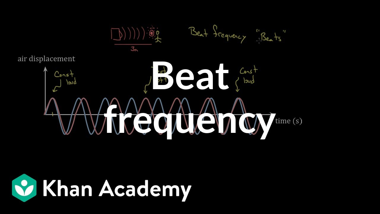 Beat frequency (video) | Waves and sound | Khan Academy