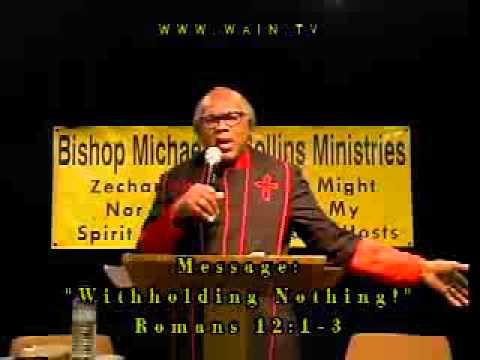 Bishop Michael Collins 04 10 2016