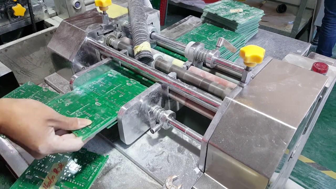 Printed Circuit Board V Groove Cutting Machine Youtube