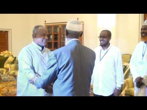 madaxweynaha Djibouti oo maanta qabilay ganacsatada somalida