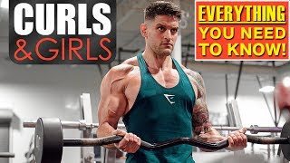 You SHOULD Curl In The Squat Wrack | Fitness Girls | GYM D#CKS(Pt.1)