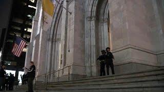 Нью-Йорк: в собор со своим бензином