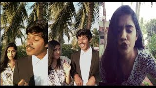 Arun & Sanjana Real Couple _Vs_ Vedimuthu Vadivelu London Movie Dubsmash Video