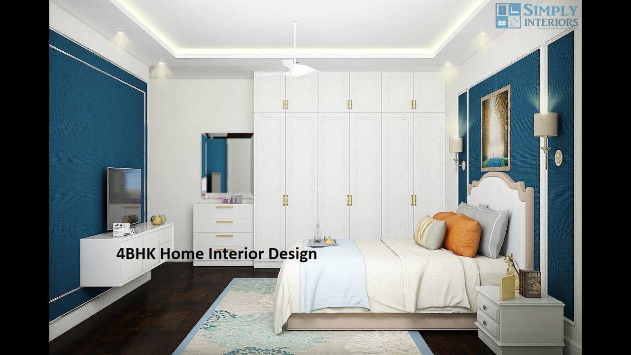4bhk Home Interior Design Cost Of Interior Design For 4bhk Interior Design For 4bhk Flat Youtube