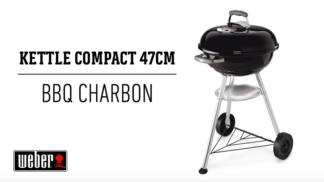 Weber Barbecue à charbon Compact Kettle™ Ø47 cm Jardiland
