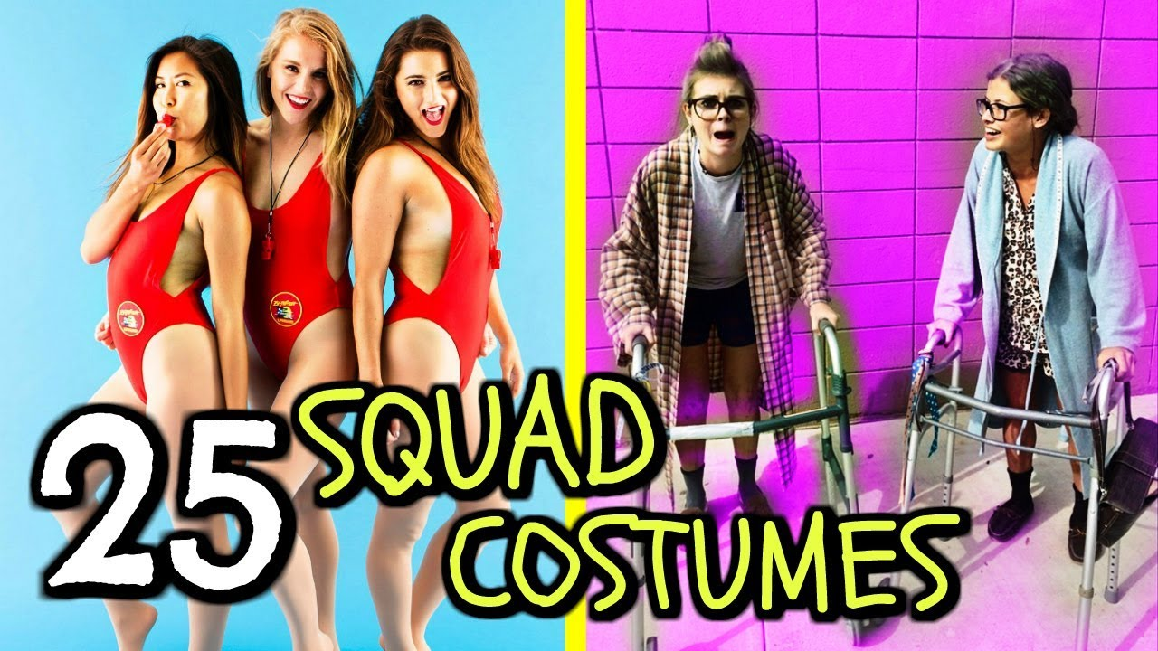 25 diy group halloween costumes bff squad duo best friend costume ideas for 2017