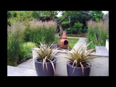 Decoracion De Jardines Modernos Con Arena Y Gravilla Youtube