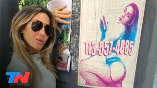 Jimena Barón y el afiche de desató la polémica | TN CENTRAL