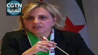 المعارضة السورية: يجب على الولايات المتحدة أن تلعب دورا قياديا في حل الأزمة السورية