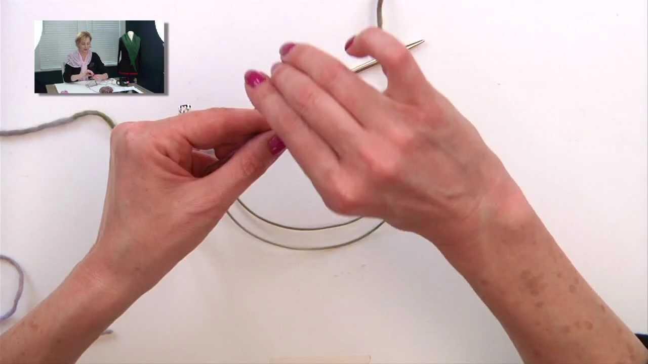 Knitting Casting On Stitches : Knitting help casting on many stitches youtube