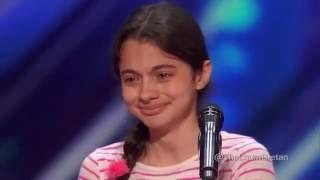 LAURA BRETAN:  13 Year Old Opera Singer  America's Got Talent 2016 Auditions (@LAURABRETAN)