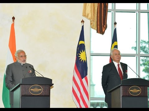 PM Modi's address at the Joint Press Statement with Prime Minister Najib Razak in Malaysia