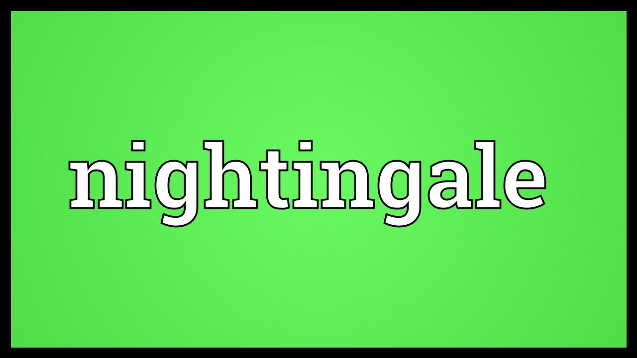 nightingale meaning