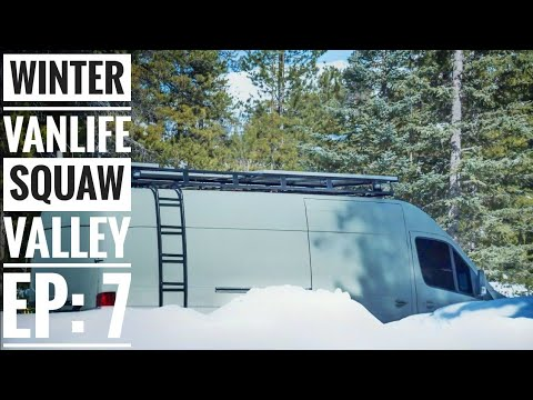 EP 7: Winter Van Life is More than Skiing Powder - Squaw Valley | Adventure in a Backpack