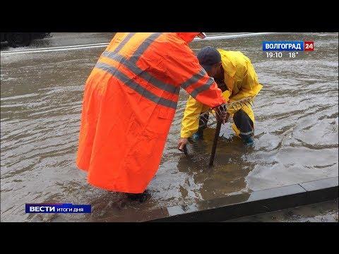 Волгоградские автомобилисты подсчитывают убытки после ливня