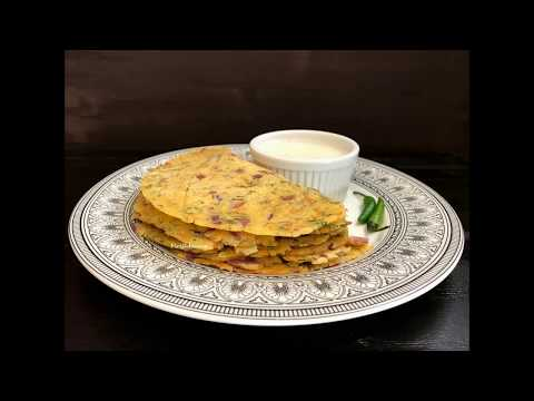 Akki Roti Recipe - Rice Flour Flat Bread