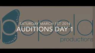 Pepela Productions Auditions March 1st 2014