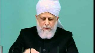 (English) Obedience to the State, Friday Sermon 1st April 2011, Islam Ahmadiyya