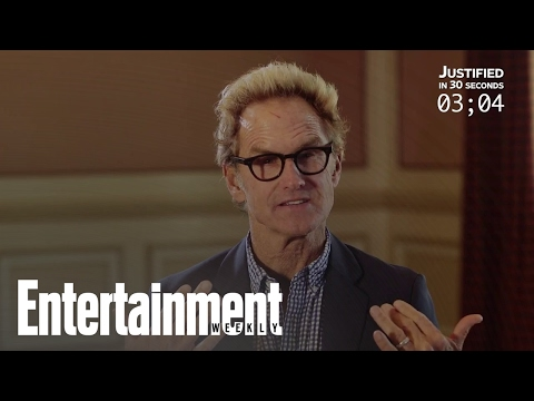 Jere Burns Recaps 'Justified' In 30 Seconds  Entertainment Weekly