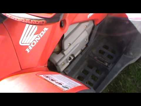 2005 honda rincon 650 4x4 in for repair youtube rh youtube com