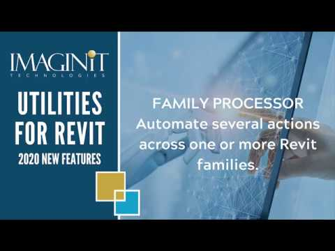 Utilities for Revit Family Processor