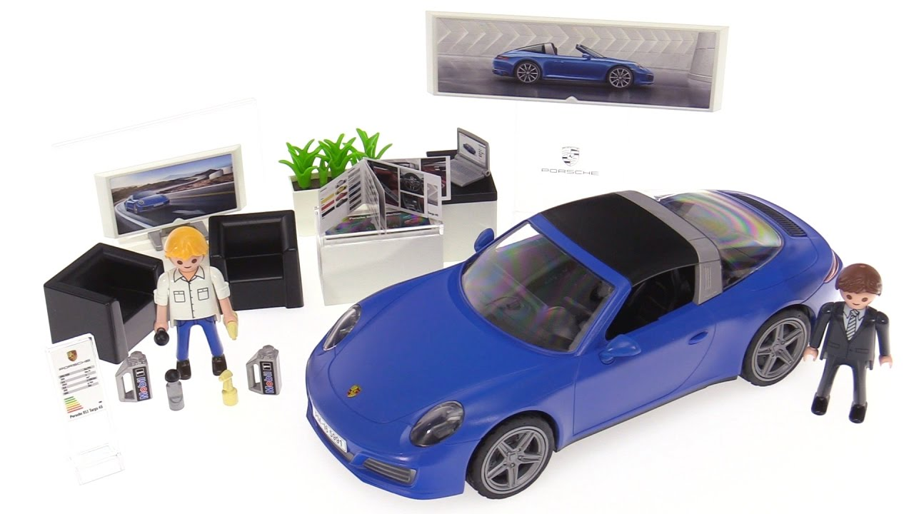Playmobil Porsche 911 Targa 4s Review Set 5991 Youtube