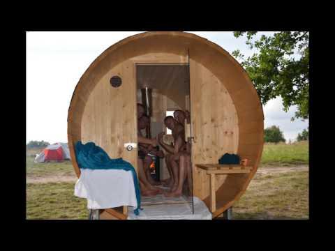Mobile Sauna , Fasssauna, Sauna, Banja, Баня , Sauna Berlin