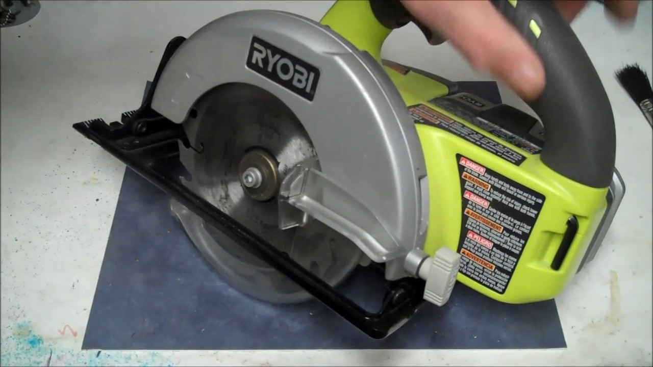 Ryobi circular saw review and demo how to use ryobi circular saw ryobi circular saw review and demo how to use ryobi circular saw left handed circular saw greentooth Image collections