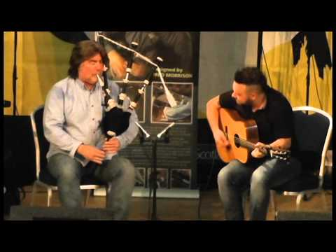 Fred Morrison - the Outlands Collection Launch @ Piping Live 2013 (Video 3)