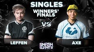 Leffen vs Axe - Winners' Finals: Melee Singles - Smash Summit 8 | Fox vs Pikachu