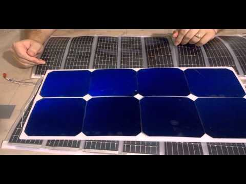 Solar Airship Project Update: New Solar Cells