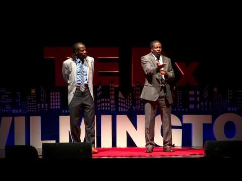 Two Poets, One Vision: The Art of the Spoken Word | The Twin Poets | TEDxWilmington