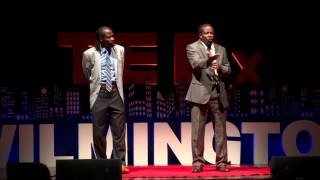 Two Poets One Vision The Art of the Spoken Word  The Twin Poets  TEDxWilmington