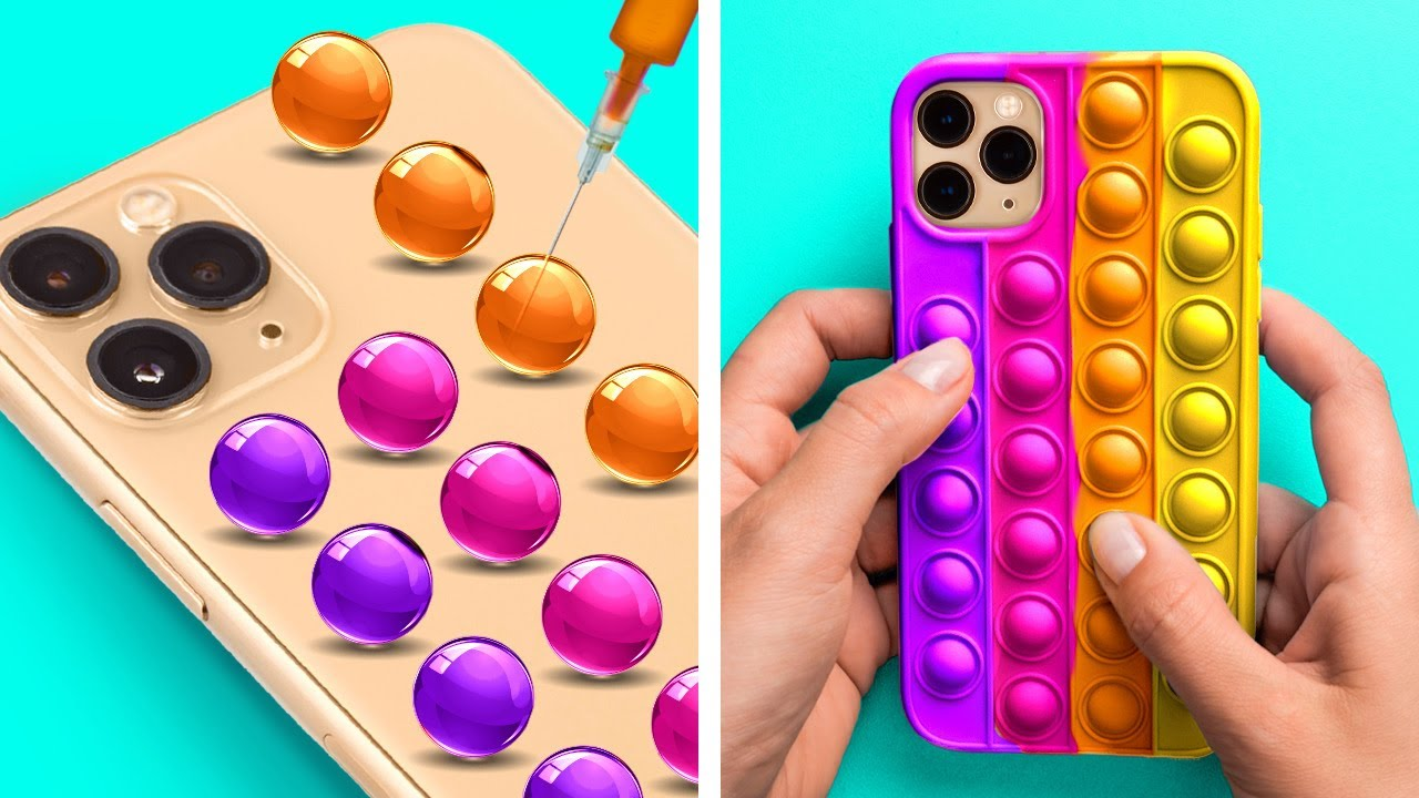 Cool Phone Case DIY Ideas You'll Want To Try || Phone Decor Crafts With Clay, Resin And 3D-Pen