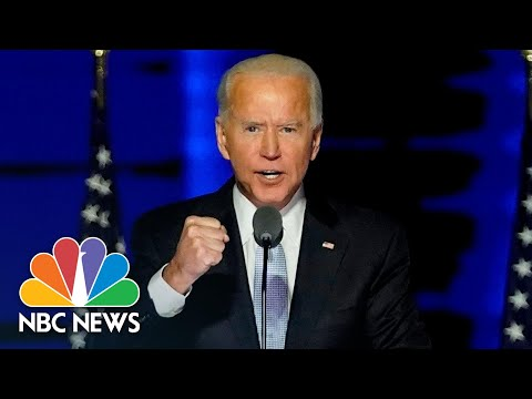 'This Is The Time To Heal In America': Watch Biden's Full Victory Speech | NBC News